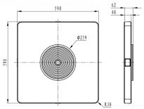 U2CL-range-dimensions   Lightning Solutions   Endura Light